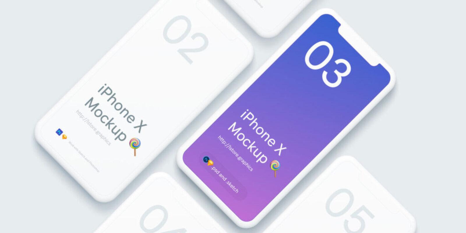 Iphone X Mock Up